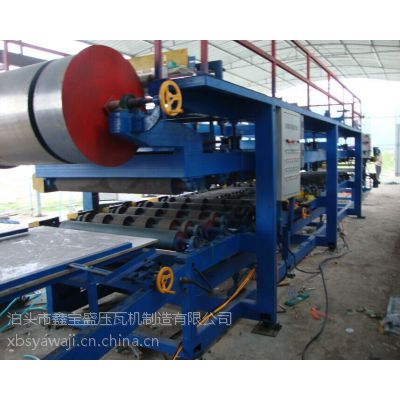 厂价直销岩棉泡沫两用复合板机设备生产线