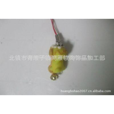供应辽宁锦州鸿雁软陶种类 手机挂件 材质 软陶  传统样式  男女通用