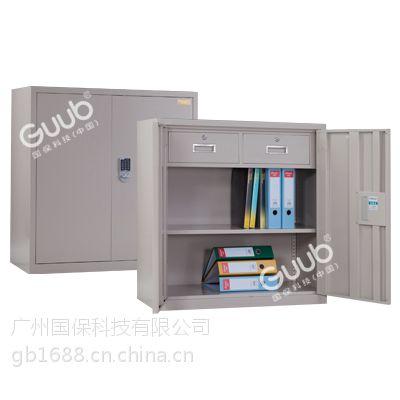 供应广州国保经济型保密柜A9090小双门密码文件柜 全钢制造厂家直销