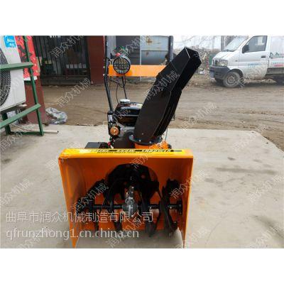 滚刷式手推抛雪机 吉林地区汽油扫雪机 工厂宿舍路面扫雪机