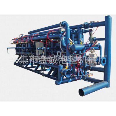 供应百度、辛集市金诚机械厂、生产6米半自动成型机、苯板设备机械