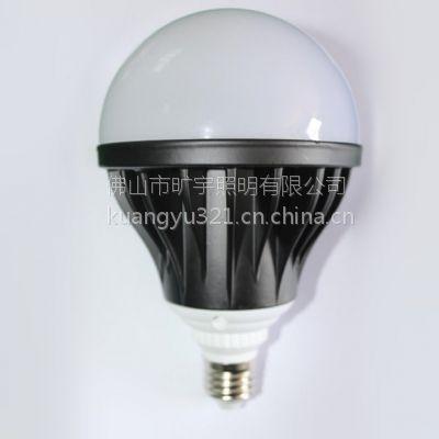 旷宇照明高品质LED压铸铝球泡灯36WE27螺口超亮居家工程球泡灯