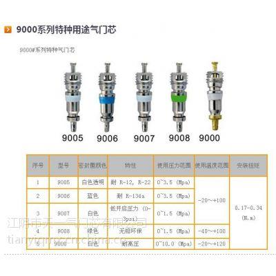 供应家用空调气门芯9006、R410a