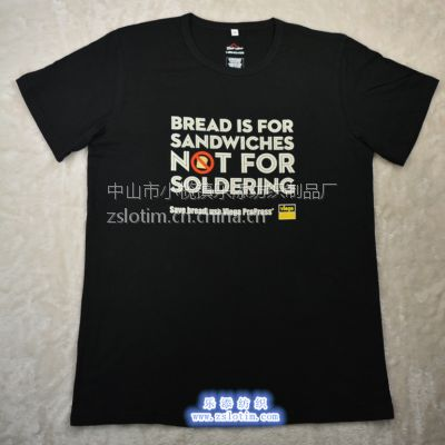 供应厂家定制精梳棉广告文化衫 OEM短袖休闲T恤