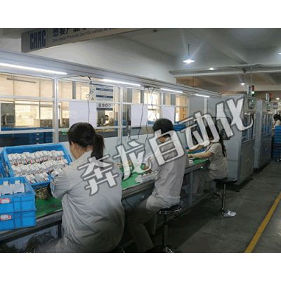 奔龙自动化DZ47LE-63漏电断路器包装生产线