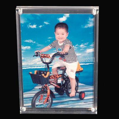 深圳飞剑亚克力高质感亚克力相框 方形透明磁力相框
