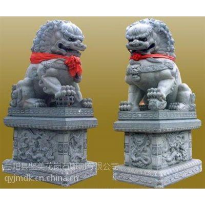 坚美花岗岩雕刻(在线咨询)、石雕狮子、石雕狮子报价