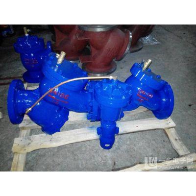 HX41X-10/16C 铸钢 DN65 带过滤管道倒流防止器)_化工机械设备
