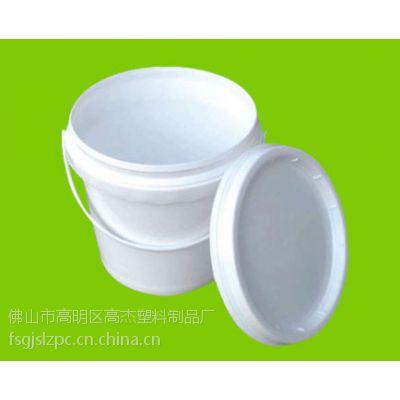 快速供应4L/4kg全新料塑料桶、油漆桶、食品桶(D0400)