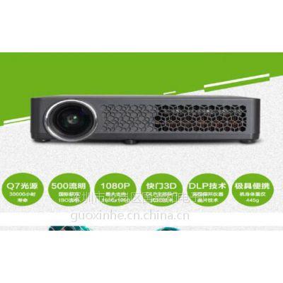 厂家批发 高配置进口光源 LED投影机高清 家用投影仪
