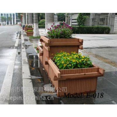 郑州公园花箱,周口商业街木花盆,街道花箱