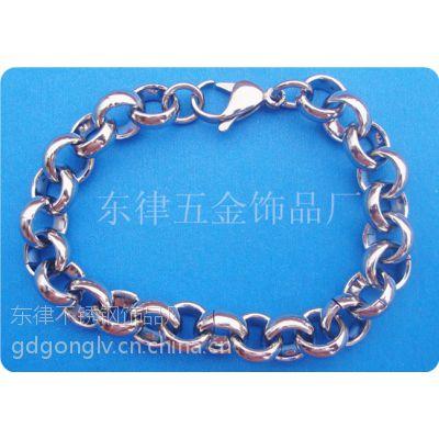 供应厂家直销时尚不锈钢珍珠手链批发