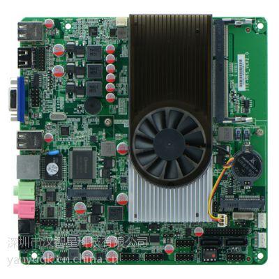 厂家直销工控主板 一体机主板 AMD N550 MINI主板 单网双串口