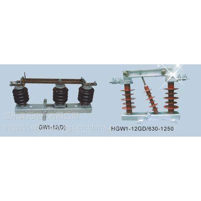 温州龚氏电气质量HGW1-72.5W/400A隔离开关