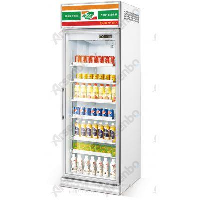 湖南便利店单门牛奶保鲜柜 雅绅宝SG06L1F单门立式冷藏饮料展示柜多少钱