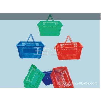 供应购物篮,购物筐,塑料篮,超市服装货架,商超货架
