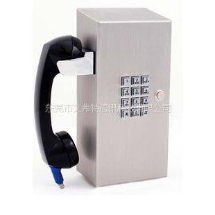 供应自然景区主题公园应急求助金属电话机