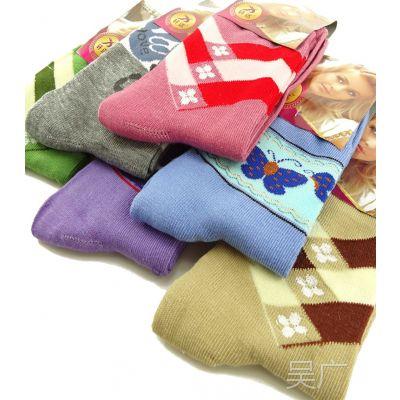 休闲女加工定做 独立包装 袜子批发城棉袜天猫赠品 运动