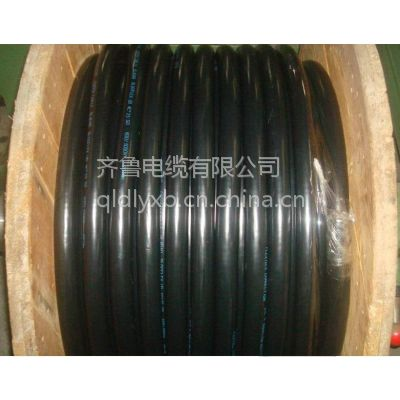 供应阳谷齐鲁品牌铜芯聚氯乙烯绝缘钢带铠装聚氯乙烯护套电力电缆 VV22 VLV22