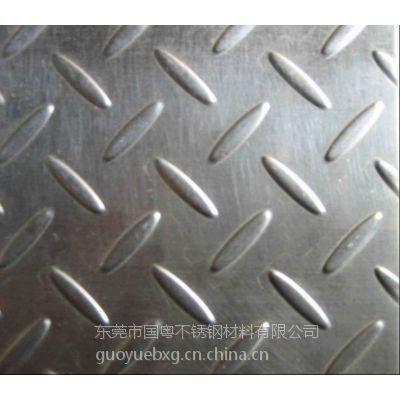 国标宝钢304不锈钢花纹防滑板价格