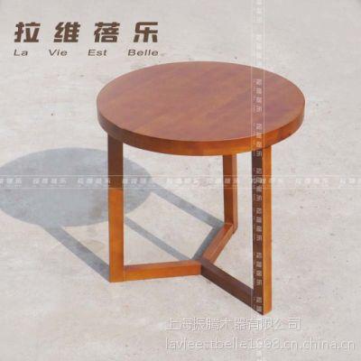 供应咖啡厅圆桌(咖啡厅实木桌子)咖啡厅实木圆桌