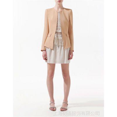 2012新款春装红色大码修身小西服小西装女装韩版小外套夏季