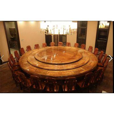 名琢世家刺猬紫檀酒店红木餐厅餐桌餐椅配套大全