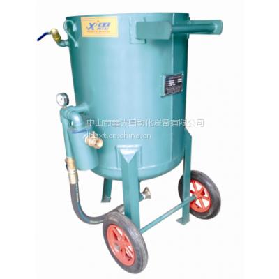 供应厂家直供河南省南阳高压移动喷砂机|城都红木家具喷砂机