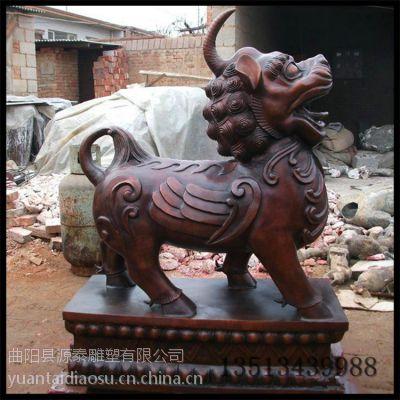 麒麟雕塑 铜雕 玻璃钢雕塑 动物雕塑 酒店摆件 卡通雕塑 广场雕塑
