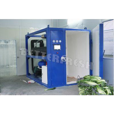 供应粤鲜 苦脉菜真空预冷机BFVC-500KG 冷却速度快只需20-30左右分钟