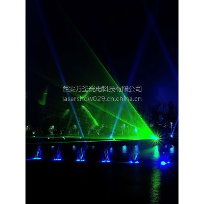 万圣激光供应WS-LASER-RGB25W广告激光灯