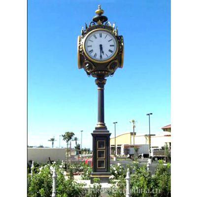 康巴丝建筑用钟 街道景观钟 街边落地钟 户外立钟