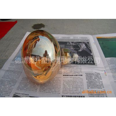 供应硬质防爆玻璃红外线275W浴霸取暖黄色灯泡 16.5cm