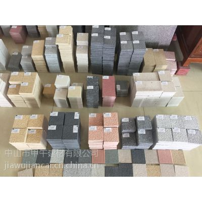 厂家供应高仿真效果仿花岗岩PC砖和仿石PC砖还有出口的生态PC砖