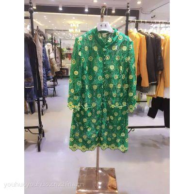 中老年大码高端品牌 凯伦诗薇 连衣裙品牌折扣女装一手货源
