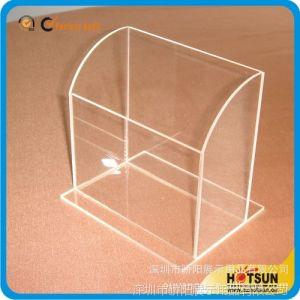 供应定做压克力包装盒名片盒 亚克力盒子制品 透明有机玻璃制品