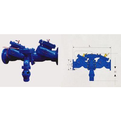 HX41X-10/16C 铸钢 DN200 HS41X-A防污隔断阀(带过滤管道倒流防止器)HS41