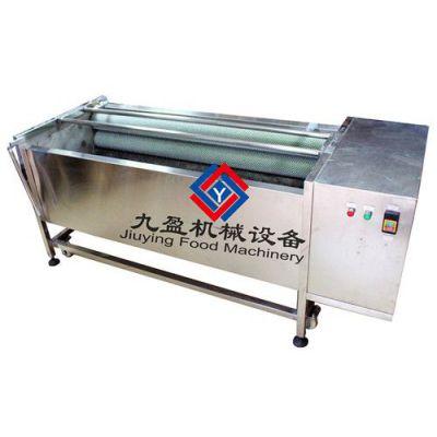 供应清洗脱皮机、土豆清洗脱皮机、去皮机、胡萝卜清洗机、芋头脱皮机JYTP-1800