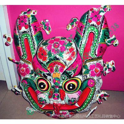 陕西宝鸡民俗特色纯手工泥塑彩绘挂饰礼品 国家非物质文化遗产