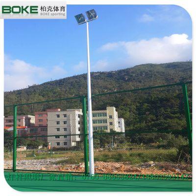 霞浦羽毛球场灯杆批发 高杆灯杆高度定制 灯柱灯杆款式设计