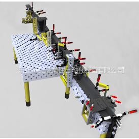 供应多功能焊接组合工装-机器人工装夹具