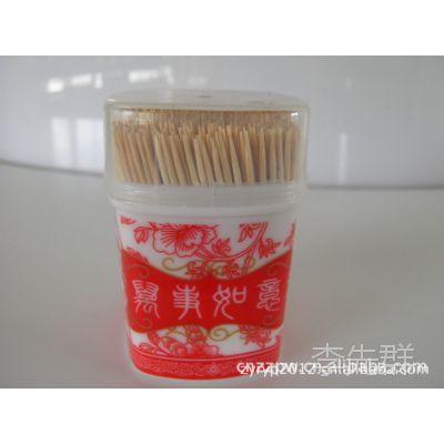 厂价直销各种 牙签瓶 牙签 牙签筒 竹签 筷子