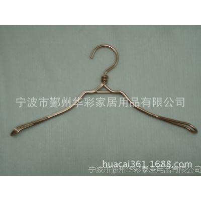 厂家定制高档铝线衣架品牌服装衣架铁线衣架批发