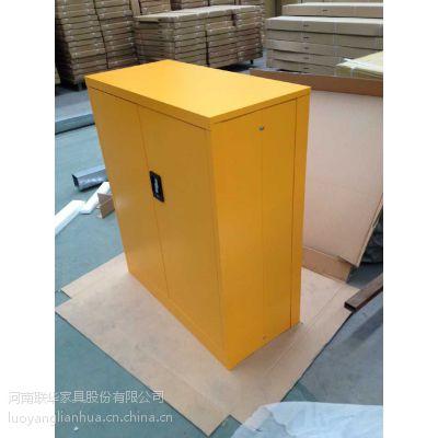 厂家直销洛阳联华钢制办公室小型折叠文件柜,方便耐用的文件柜