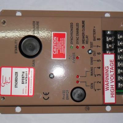 SYC6714发电机并机同步控制板,GAC SYC6714并机板