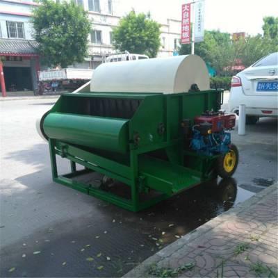 芜湖全自动青豆采摘机操作视频 新型毛豆荚分离机圣嘉制造