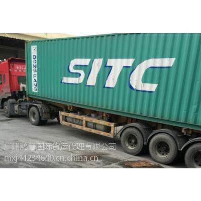 中国到柬埔寨双清物流广州海运柬埔寨价格