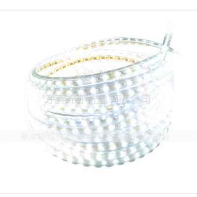 供应led灯带超亮防水60珠 led贴片灯带灯条220V