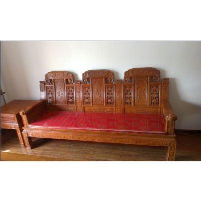 供应黄花梨象头会客沙发  实木沙发  沙发六件套