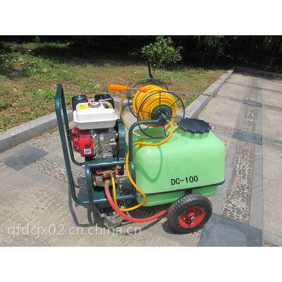大成牌100L汽油打药机 果园高压型喷雾器